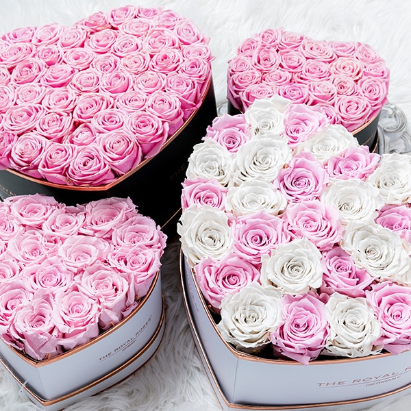 the royal roses rosenbox flowerbox infinity rosen. Black Bedroom Furniture Sets. Home Design Ideas