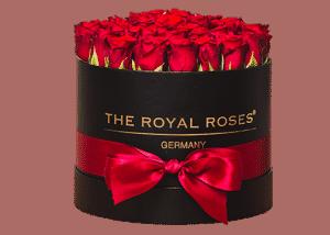 rosenbox bestellen so geht s the royal roses rosenbox konservierte rosen. Black Bedroom Furniture Sets. Home Design Ideas