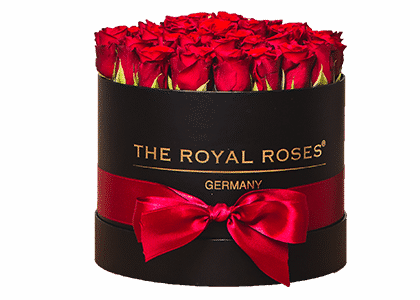 Royal Round Box schwarz medium