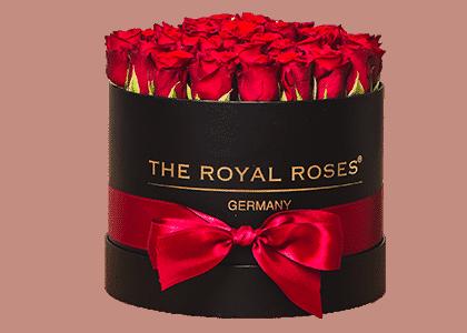 Royal Round Box schwarz medium