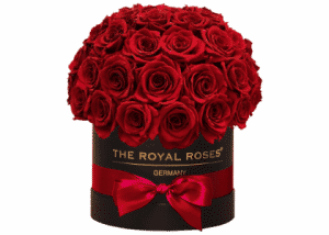 Royal Bonbon Box schwarz rot