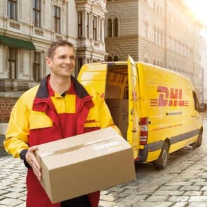 The Royal Roses® DHL oder UPS Lieferung