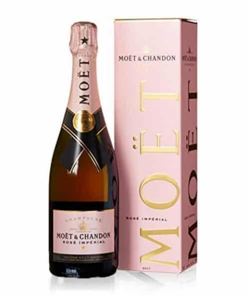 Moet Brut Rose Champagner
