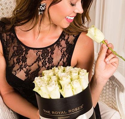 The Royal Roses® Die weißen Rosen