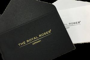The Royal Roses® Umschläge für Grußkarten